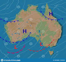 Weather Forecast Of Australia Meteorological Weather Map Of
