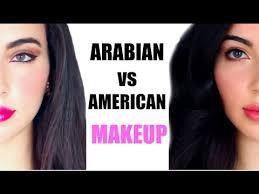 arabian makeup vs american makeup before and after transformation daniela m biah