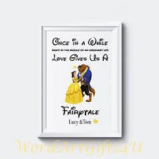 image is loading personalised enement disney beauty and the beast couples