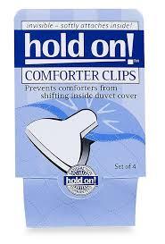 comforter clips