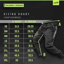 80 Organized Empire Paintball Pants Size Chart