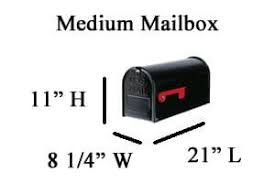 mailbox dimensions. Our Support Specialists Are Happy To Assist You With Choosing The Correct Aluminum Mailbox Size For Your System. Dimensions