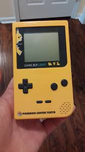 Pikachu Gameboy Light Did You Know There Is A Pokemon Center Gameboy Light From