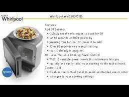 whirlpool countertop microwave wmc20005yd at appliancesconnection com