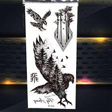 крутые мужские дизайнерские временные моментальные тату тотем женские