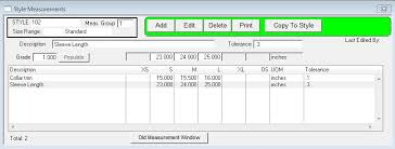 Measurement Window Pfitwiki Measurements
