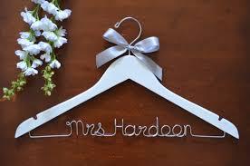 Twisted Hangers Personalized Wedding Hangers