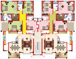 2 bedroom flats plans. modern three bedroom apartment plan for 2 flats plans