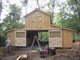 Horse Barn House Combo Metal Homes Cost Monitor Build Youtube ...