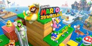 Wii U Spiele Charts Super Mario 3d World Wii U Games Nintendo