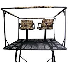 guide gear 2 man 12 tower tree stand 663256 tripod