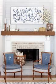 The Lettered Cottage Fall Mantel Decor Inspiration 600x900