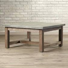 concrete top coffee table coffee tables concrete top coffee table diy
