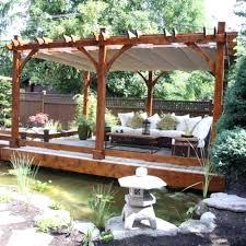outdoor garden structures pergola with retractable roof types of outdoor garden structures