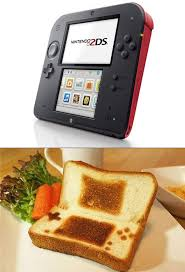 Toast Vending Machine Magnificent Nintendo 48DS Officially Unveiled Looks Like Giant Piece Of Toast