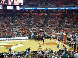 University Of Texas Basketball Seating Chart Frank Erwin Center Texas Seating Guide Rateyourseats Com