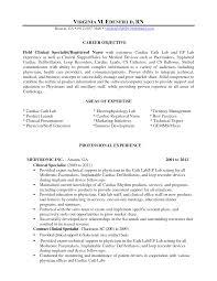 Cath Lab Nurse Sample Resume Sample Resume For Cath Lab Nurse Danayaus 2