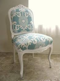 re upholstered chair love the idea of doing this to wver dining room chairs