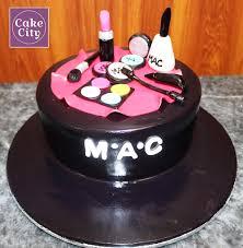 black mac makeup cake