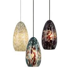 Lighting Design Ideas:Colored Glass Pendant Lights Oval Dragon Egg Shaped  Multi Amazing Pattern Natural