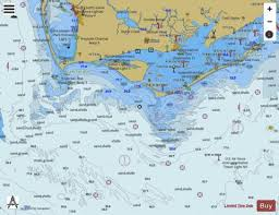 Apalachicola Bay To Cape San Blas Marine Chart