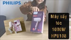 Review máy sấy tóc HP8108 rẻ, gọn và nhẹ - Hair dryer Philips - YouTube