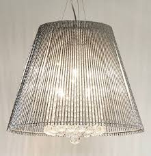 crystal pendant lighting. Crystal Chandelier Metallic Ceiling Pendant Light Lighting
