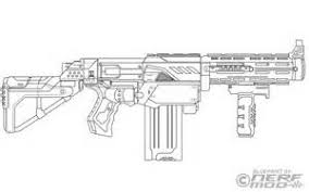 Small Picture Nerf Gun Free Coloring Pages