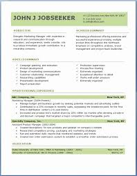 Best Resume Format For Sales Professionals Inspirational Free