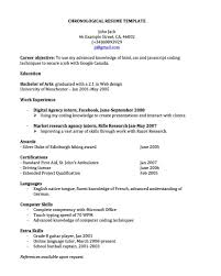 cover letter resume examples chronological resume examples cover letter chronological resume template chronological xresume examples chronological extra medium size