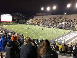 Vanderbilt Stadium Section I Row 31 Seat 23 Vanderbilt