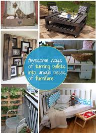 turning pallets into furniture. Awesome Ways Of Turning Pallets Into Unique Pieces Furniture