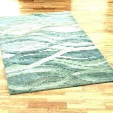 green area rug rugs mint round seafoam blue