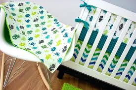 kelly green quilt magnificent robot crib bedding custom nursery baby sweet designs navy blue and lime
