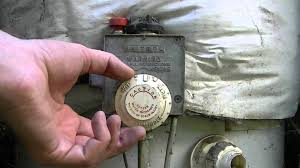 Hot Water Heater Setting How To Change The Temperature On A Gas Water Heater Youtube