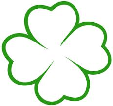 trebol para colorear plantilla trebol de cuatro hojas buscar con google descubriendo