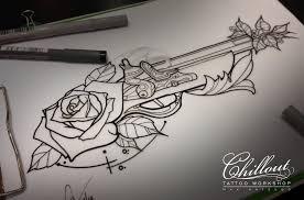 Art тату эскиз Rose Chillout Tattoo Workshop