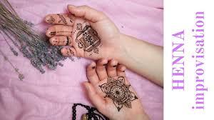 мандала тату хной на ладошках Mandala Henna Tattoo Trendymehendi