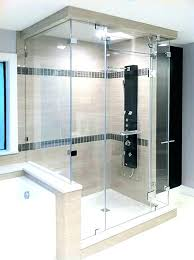 sonata steam shower door enclosures doors of showers glass transom frameless home depot transo