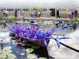 picture taken at the new york botanical garden the chihuly exhibit