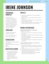 Resume Template 2017 Resume Best Format For Nurses 24 Resume Format 24 7