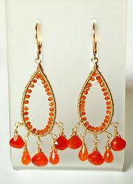 carnelian chandelier earrings wire wrapped gold gallery photo gallery photo gallery photo
