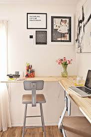 office floating desk small.  office a new twist on the diy standing desk  how to build a wallmounted work  station and office floating small