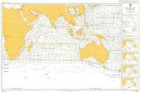 Admiralty 5126 Planning Chart Routeing Indien Ocean