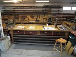 Four Angles Of John Madaraszs Shop Where He Does A Lot Of Metal