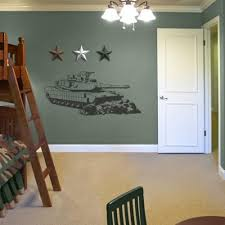 Military Bedroom Decor Sudden Shadows 215 In X 485 In Tank Sudden Shadow Wall Decal