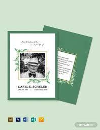 Memorial Card Template 17 Funeral Card Templates Psd Ai Free Premium Templates