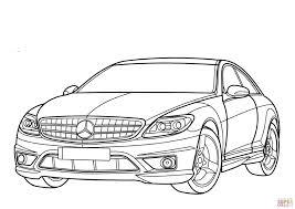 Coloriage Mercedes Benz Classe Cl Coloriages Imprimer Gratuits