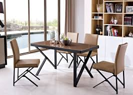 stainless steel kitchen table. Stainless Steel Leg Oak Wood Top Dining Table-in Tables From Furniture On Aliexpress.com | Alibaba Group Kitchen Table