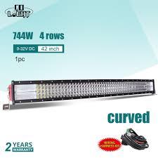 <b>CO LIGHT 4X4</b> Car <b>Led</b> 42Inch <b>Off Road</b> 8D Curved <b>Light</b> Bar 744W ...
